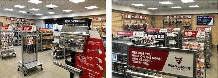 Road Choice dedicated parts store
