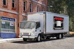 Isuzu truck with Isuzu Connect