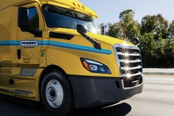 Penske Truck Rental truck