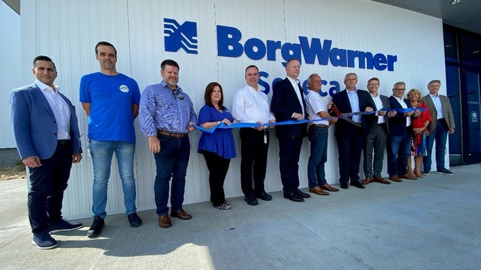 BorgWarner Seneca facility reopens