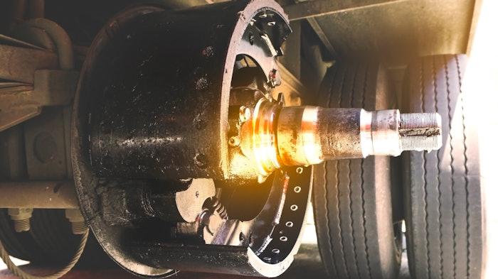 Truck wheel-end
